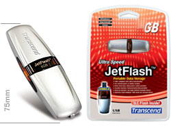 jetflash 4gb transcend 2a usb 2.0 (флеш память)