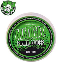 Снаг-лидер плетеный MADCAT® POWER LEADER Dark Brown - 1.00mm / 100kg /15m
